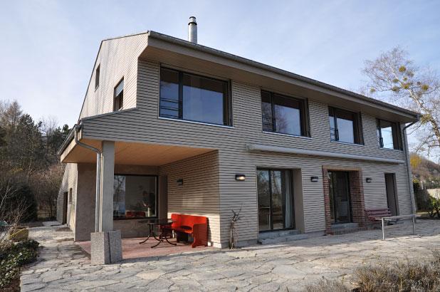 ferienhaus christ vallamand vd stefan frei architektur. Black Bedroom Furniture Sets. Home Design Ideas
